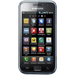 Samsung GalaxyS i9001 plus black, Smartphone sim-free, unbranded
