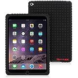 iPad Air 2 Silicone Case, Snugg™ - Protective, Non-Slip Silicone Case With Lifetime Guarantee (Black) For Apple iPad Air 2