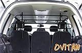 OVITAN Hundegitter XL fürs Auto 4 Streben universal zur Befestigung