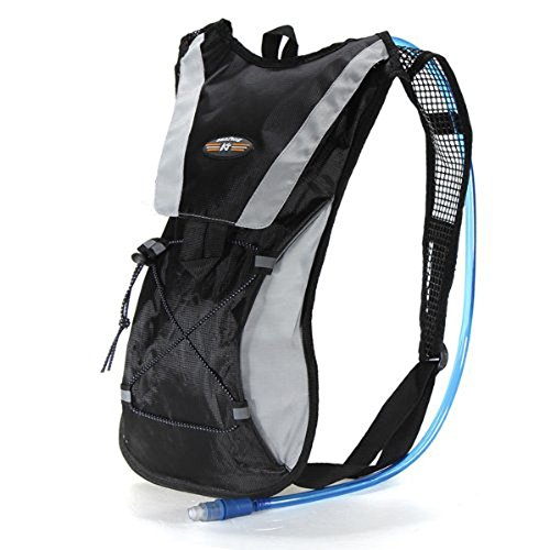 EconoLed Hydration Pack Water Rucksack Backpack Bladder Bag Cycling Bicycle Bike/Hiking Climbing Pouch + 2L Hydration (Chicken Egg Bag)