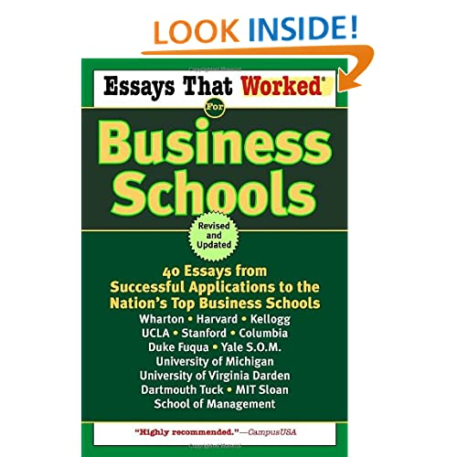 top business school essays