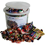 Scary Halloween Party Bucket mit schaurigen Süßigkeiten, 1er Pack (1 x 1,1 kg)