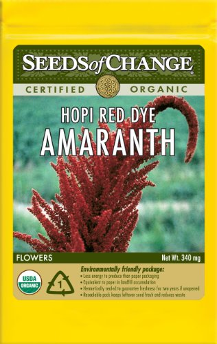 Seeds of Change S13444 Certified Organic Hopi Red Dye AmaranthB001D4ORO2 : image