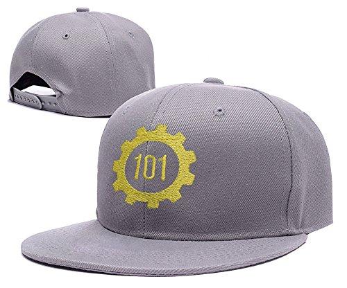 DONGF Caps - Cappellino da baseball - Uomo Grey Hat Taglia unica