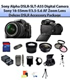 Sony Alpha DSLR-SLT-A55 A55 Digital Camera