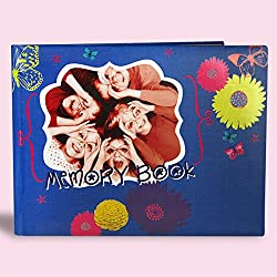 ARCHIES TRENDY MEMORY BOOK SCRAPBOOK - BEST GIFT FOR BIRTHDAY, ANNIVERSARY, CHRISTMAS, NEW YEAR, FRIENDS, SISTER AND YOUR LOVED ONES