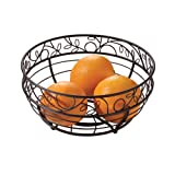InterDesign Twigz Fruit Bowl, Bronze