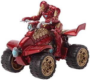 Hasbro - 18487 - Figurine - Iron Man 2 - Iron Racers - Hyperspeed Quad
