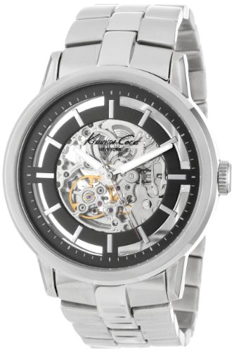 Kenneth Cole New York Men's KC3925 Automatic Silver Dial Watch
