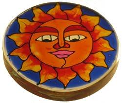 Irshikaa hues Paper Weight Sun (8x9x5 cm)