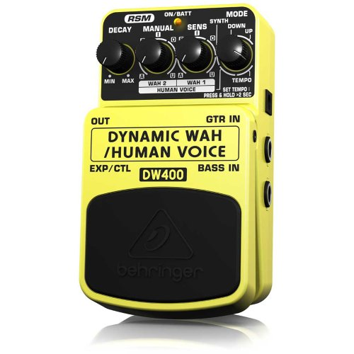 Behringer Dw400 Dynamic Wah Ultimate Auto-Wah/Human Voice Effects Pedal