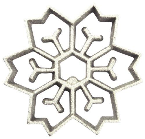 Kitchen Supply Rosette Iron, 2 in 1 Snowflake