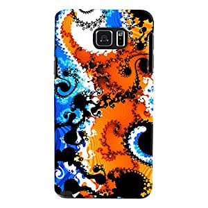 ColourCrust Samsung Galaxy Note 5 Dual Sim / Edge Plus Mobile Phone Back Cover With Colourful Art Pattern Style - Durable Matte Finish Hard Plastic Slim Case