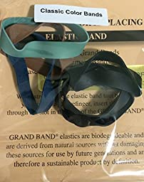 Grand Band, 2 Packs of Grand Band, Replacement Grand Band, Replacement Rubber Bands for the Grand Band Rubber Money Clip