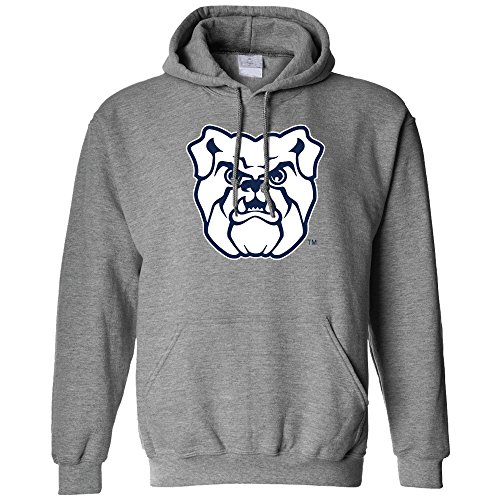 NCAA Butler Bulldogs Long Sleeve Hoodie, X-Large, Athletic Heather (Butler Bulldogs Sweatshirt compare prices)