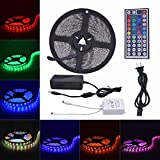 Linkcool 5M/16.4ft Multi Color Changing RGB 5050,300 LEDs Waterproof Light Strip,LED Light Strip,Rope Lights For...