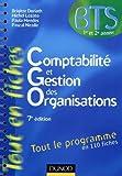 comptabilité et gestion des organisations , tout le programme en 110 fiches (7e édition)