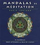 echange, troc David Fontana - Mandalas de méditation : 52 mandalas pour atteindre la paix de l'esprit