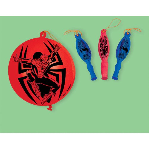 PUNCH BALLOONS SPIDER-MAN