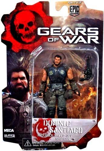 "Gears of War Dominic Santiago with Sawed-off Shotgun Series Two 3 3/4"""