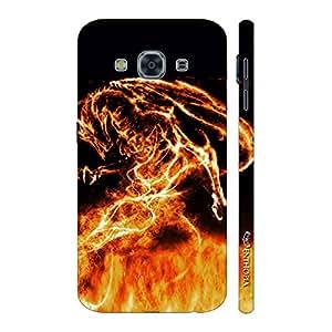 Enthopia Designer Hardshell Case Firey Dragon Back Cover for Samsung Galaxy J3 Pro