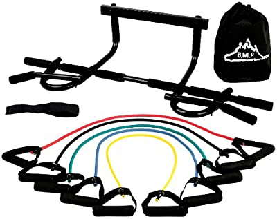 Black Mountain Products Pull Up Bar And Resistance Bands from Black Mountain Products