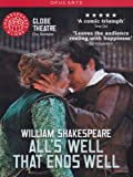 Shakespeare: All's Well That Ends Well (Michael Bertenshaw/ Sam Cox/ Sam Crane/ Naomi Cranston) [Globe on Screen] [DVD] [2012] [NTSC]