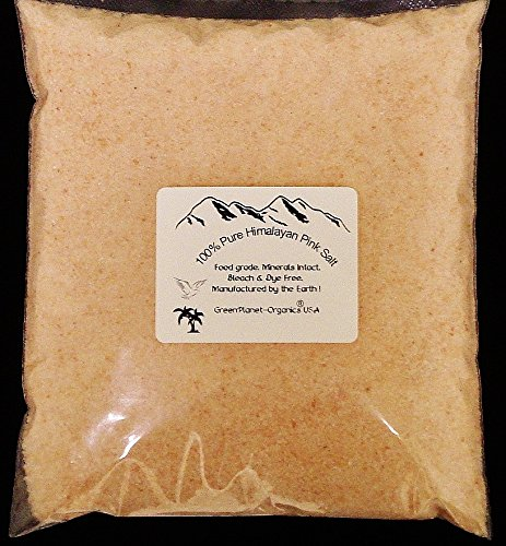 10 Lbs Bulk Wholesale Pink Himalayan Salt 100% Pure (Unbleached & Fluoride Free) Earthy & Robust Flavor