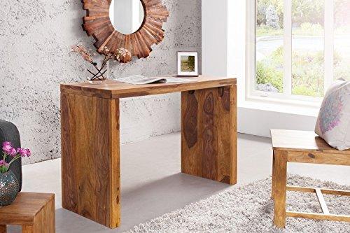 DuNord-Design-Laptoptisch-Schreibtisch-JAKARTA100cm-Palisander-Massiv-Sheesham-natur-Holztisch-Konsole