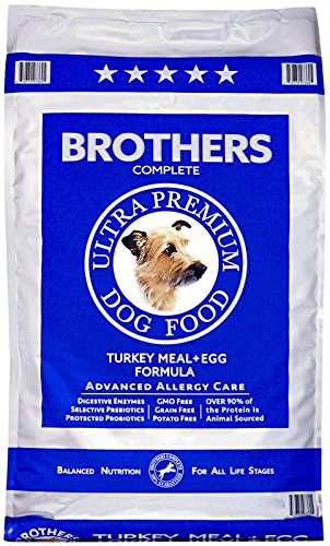 Brothers Complete Turkey Meal and Egg Advanced Allergy Formula, 25-Pound (Brothers Allergy Dog Food compare prices)