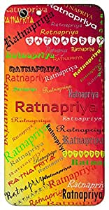 Ratnapriya (Popular Girl Name) Name & Sign Printed All over customize & Personalized!! Protective back cover for your Smart Phone : Samsung Galaxy A-3