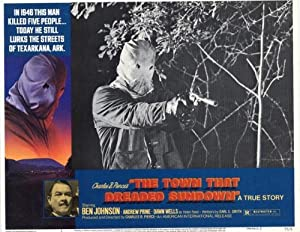 The Town That Dreaded Sundown Movie Poster (11 x 14 Inches - 28cm x 36cm) (1977) Style A -(Ben Johnson)(Andrew Prine)(Dawn Wells)(Jimmy Clem)(Charles B. Pierce)
