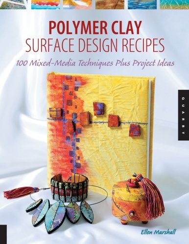 POLYMER-CLAY-SURFACE-DESIGN-RECIPES-By-Ellen-Marshall-Excellent-Condition