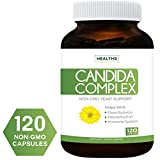 Best Candida Cleanse (Non-GMO) 120 Capsules: Extra Strength - Powerful Yeast Infection Treatment with Caprylic Acid, Oregano Oil & Probiotics to Clear Candida While Preventing Reoccurrence