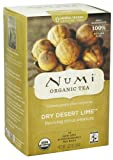 Numi Organic - Herbal Tea Dry Desert Lime - 18 Tea Bags