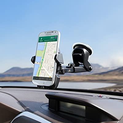 iOttie Car Mount Holder and Wireless Qi Charger for Galaxy S6/S6 Edge Plus Iphone