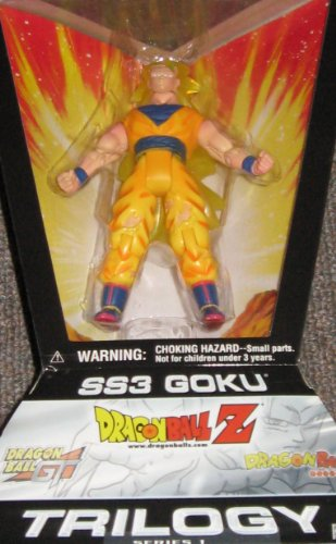 Picture of Jakks Pacific Dragon Ball Action Figure: SS3 Goku - Trilogy Series 1 (B003T8KTVA) (Dragon Ball Action Figures)