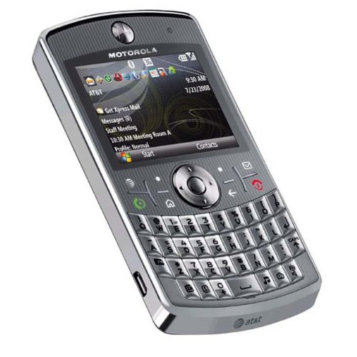 Motorola Q9h Unlocked PDA Cell Phone with 2 MP Camera and Windows Mobile 6.0--U.S. Version with Warranty (Silver)