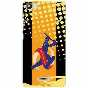 Micromax Canvas 5 E481 Back Cover - Silicon Play Designer Cases