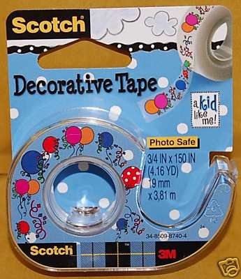 Scotch Decorative Tapes with