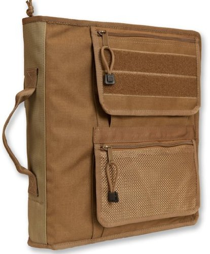 """Tactical 3-Ring Xtra Large Binder Briefcase (2 1/2"""") Coyote Brown, 2090_1"""
