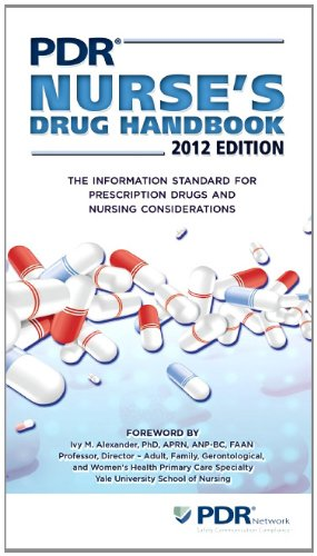 PDR Nurse's Drug Handbook 2012 (Physicians' Desk Reference Nurse's Drug Handbook)