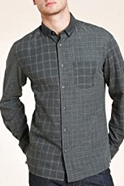 Slim Fit Limited Collection Pure Cotton Checked Flannel Shirt [T25-2016-S]