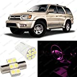 Pink LED Toyota 4Runner Interior Package Deal 2001-2002 (6 Pieces)