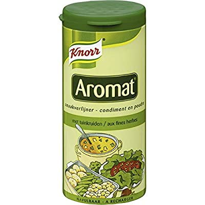 Knorr Aromat Seasoning Gartenkräuter - 88 Gramm [SATZ 1] - importiert aus Holland