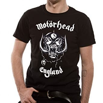 Mens Motorhead England Black 5327Tsbps Small T-Shirt
