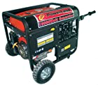 Powerland PD10000E 10,000 Watt 16 HP OHV Gas Powered Portable Generator With Electric Start & Wheel Kit (CARB Compliant)