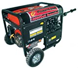 Powerland PD10000E 10,000 Watt 16 HP OHV Gas Powered Portable Generator With Electric Start & Wheel Kit (CARB Compliant) Picture