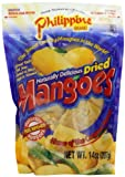 Philippine Brand Dried Mango, 14 Ounce Pouch