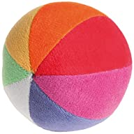 Grimm's Soft Organic Rainbow Ball wit…